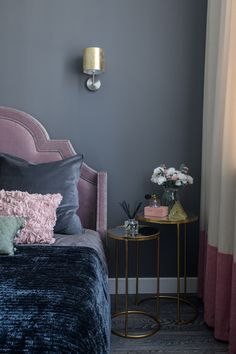 Purple Bedroom Decor, Navy Bedrooms, Couch, Ideas, Interior, Furniture, Home Decor, Iphone, Home