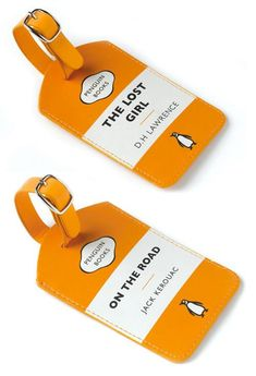 Pretty much the best luggage tags that a well-travelled girl could ever ask for.