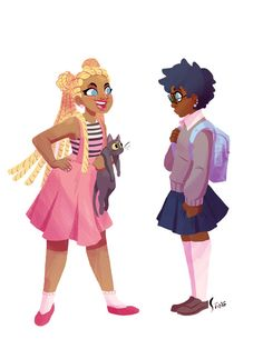 thesanityclause: Wanted to see what black Sailor Moon would look...