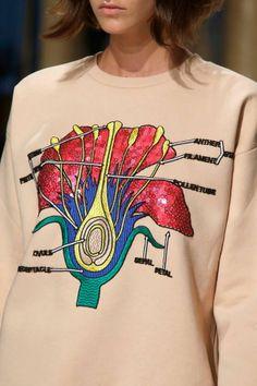 flower shirt.