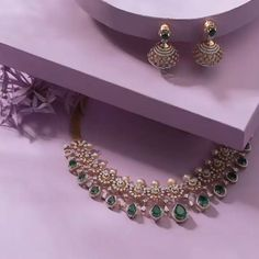 Shop The Most Exotic Fine Jewellery Collections Here Shop The Most Exotic Fine Jewelery Collections Here Gold Earrings Designs, Gold Jewellery Design, Diamond Jewellery, Indian Gold Necklace Designs, Jewellery Box, Diamond Necklace Set, Diamond Cross Necklaces, Indian Diamond Necklace, Simple Jewelry