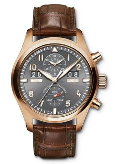 IWC [NEW] Pilot's Watch Spitfire Perpetual Calendar Digital Date Month IW379103 (Retail:US$49,900) Special Price:HK$272,000