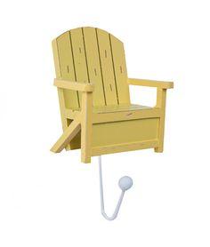 Cabideiro Cadeira Amarela - Gift Express