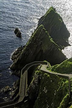 Steps to the sea,Donegal, Ireland— 与 Nicholas Péti