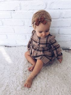baby girl bows and dresses