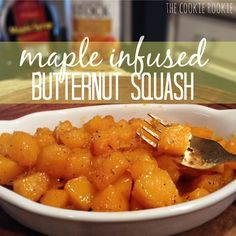 maple infused butternut squash.  one of our favorite side dishes from STL's Annie Gunn's Restaurant
