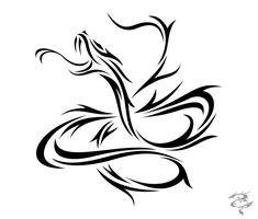 Chinese Zodiac Tattoo Snake by visuallyours.deviantart.com on @deviantART