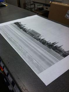 Super Ideas For Diy Art Large Engineer Prints Black And White Posters, Black And White Prints, Large Black, Black White, Large Photo Prints, Little Green Notebook, Engineer Prints, Large Format Printing, Enlarge Photos