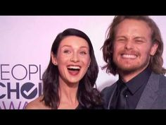 Videos of Sam Heughan and Caitriona Balfe at the PCAs | Outlander Online