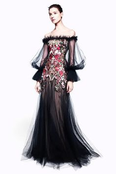 Alexander McQueen Pre-Fall 2012 Collection. Love the floral detailing.