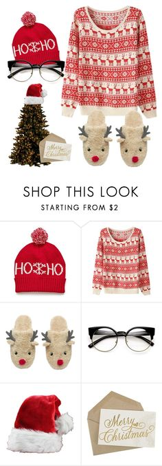 """""""Christmas' comin to town."""" by ary-polyvore-outfits ❤ liked on Polyvore featuring women's clothing, women, female, woman, misses and juniors"""
