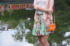 La Troisième: Floral skirt