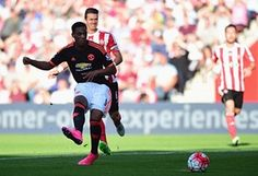 Martial scores his and his team's second.