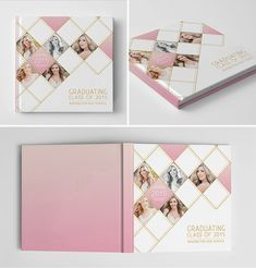 Photo Book Cover Template for Photographers by hazyskiesdesigns