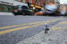 Little People in the City: The Street Art of Slinkachu ...