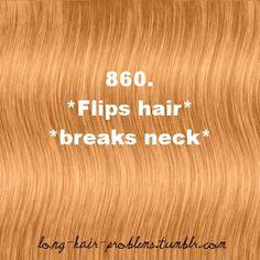 860. Long Hair Problems