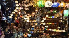 The Grand Bazaar, Istanbul - top 5 markets in the world Grand Bazaar, Beautiful Places To Travel, Oh The Places You'll Go, Istanbul, Travel Tips, Ocean, Marketing, World, Holiday Decor