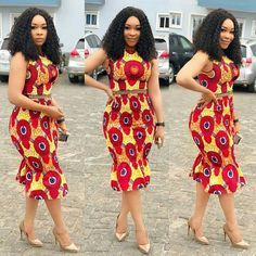 """Today we bring to you """"Fabulous Ankara Styles for Beautiful Ladies."""" These ankara styles are absolutely irresistible and attractive. They can make you look outstanding in any event you attend with these styles. Ankara Gown Styles, Latest Ankara Styles, Ankara Gowns, Ankara Dress, Kente Styles, Dress Styles, African Attire, African Wear, African Dress"""