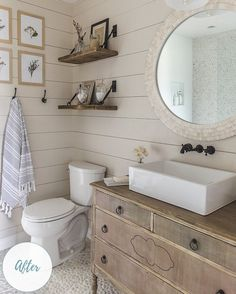 Before & After: Spa Bathroom Rises from the Rubble | Wayfair.ca