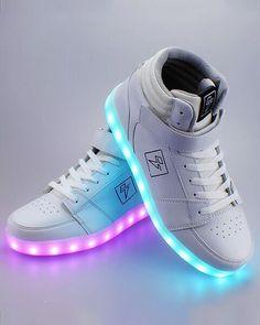 Bolt - High Top LED Shoe