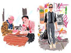Blog: Damien Florebert Cuypers: New York Fashion Week - Doodlers Anonymous