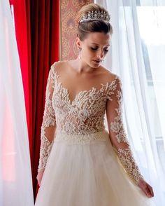 Serenidade e a beleza de uma noiva!