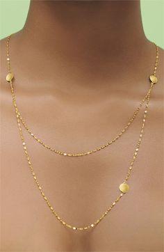 Lana Jewelry Tri Disc Necklace