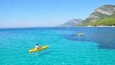 Kayaking in Zuljana, Croatia