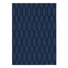 Honeycomb Textured Wool Rug #westelm