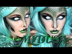 Medusa Makeup Tutorial! - YouTube