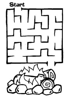 mazes to print. Tape Maze on floor of gym...have some kind