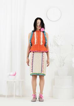 #Katie Jones #Knit and Crochet #Fashion - Let Them Eat Cake