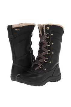 Timberland Mount Hope Mid Women's Lace-up Boots Black Forty Leather Ugg Boots, Combat Boots, Shoe Boots, Snow Boots Outfit, Riding Boots, Women's Lace Up Boots, Laced Boots, Mount Hope, Shoes