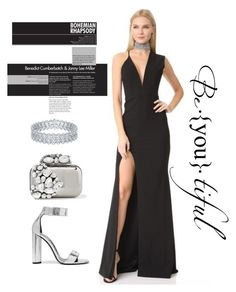 """""""#promnight5"""" by nissaat on Polyvore featuring Michelle Mason, Jimmy Choo and Tom Ford"""