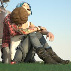 Here, I wanna share some of my Life is Strange fanfic and love of all things Pricefield. Overwatch, Yuri, Blue Haired Girl, Life Is Strange 3, Spiderman 3, Chloe Price, Max And Chloe, Weird Art, Partners In Crime