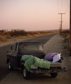 truck bed...bed - Click image to find more Cars & Motorcycles Pinterest pins
