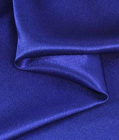 Royal Blue Crepe Back Satin Fabric - $3.7 | onlinefabricstore.net