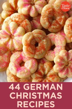 44 German Christmas Recipes Best Picture For crockpot Holiday Recipes For Your Taste You are looking for something, and it Christmas Goodies, Christmas Desserts, Christmas Treats, Christmas Parties, Christmas Time, Simple Christmas, German Christmas Food, Christmas Cooking, New Year's Desserts