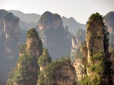 Parque Nacional de Zhangjiajie - China