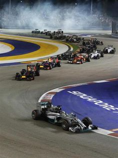 Check out photos from the Singapore Grand Prix Singapore Grand Prix, Watch F1, Writing Pictures, F1 Season, F 1, Circuits, Formula One, Auto Racing, Race Cars