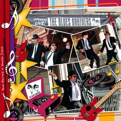 Blues Brothers by Tbear. Kit: Retro Baby! Retro! by CL Graphics http://scrapbird.com/designers-c-73/a-c-c-73_514/country-livs-graphics-c-73_514_351/clgraphics-retro-baby-retro-page-kit-p-17750.html