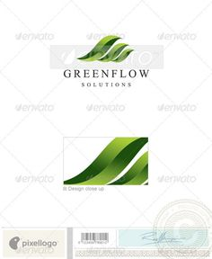 Nature & Animals Logo 2069 — Vector EPS #greenflow #solutions • Available here → https://graphicriver.net/item/nature-animals-logo-2069/496822?ref=pxcr
