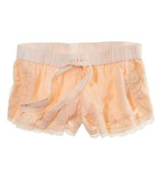 Lace Sleep Boxers.   So cute and look extremely comfy I want these sooooo bad!!!