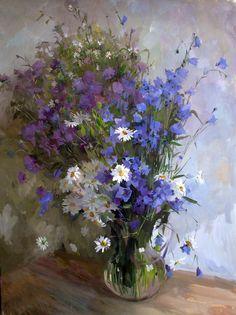 Полевые цветы... Полевые...Цветы и натюрморт в живописи.. Обсуждение на LiveInternet - Российский Сервис Онлайн-Дневников