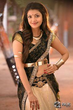 Kajal Aggarwal in hot black saree, navel visible Indian Celebrities, Bollywood Celebrities, Bollywood Actress, Celebrities Fashion, South Indian Actress, Beautiful Indian Actress, Beautiful Actresses, Kajal Agarwal Saree, Black Saree