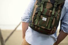 Add some camo to your collection. #HerschelSupply #Spring