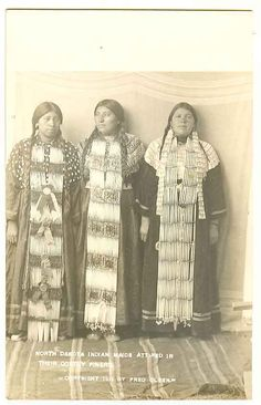 North Dakota Indian Maid Beads Fred Olsen RPPC Real Photo ND Postcard | eBay