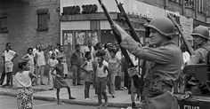 Newark erupted in racial strife in the summer of 1967. This unpublished photo shows a calmer scene, with anger and resign...