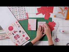 Action, Embellishments, The Creator, Youtube, Christmas Cards, Workshop, Scrapbook, Paper, Ephemera