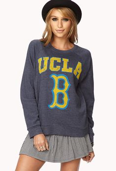UCLA Bruins Sweatshirt | FOREVER21 Do you rep UCLA or USC? #Bruins #Graphic #LA